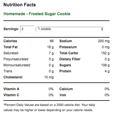 Frosted Sugar Cookies Nutrition Facts.png