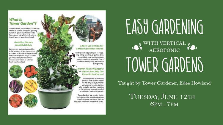 Learn To Tower Garden — Tiller & Rye