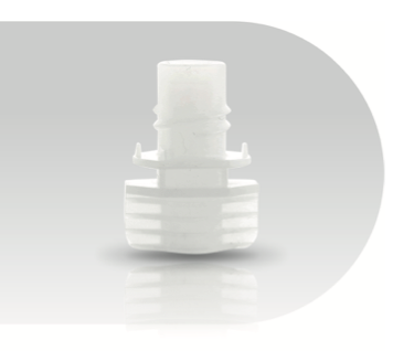 Neutral Spout - Best solution for fill-through-the-spout and pre-made pouch systems.