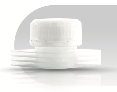 Large Orifice Spout - Best solution for large, high volume pouches. Orifice 25.5 mm.