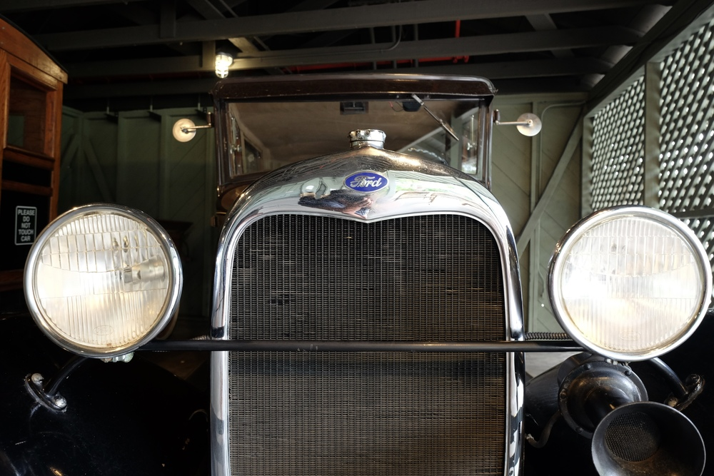 One of the many cars in Henry Ford's Winter Estate garage