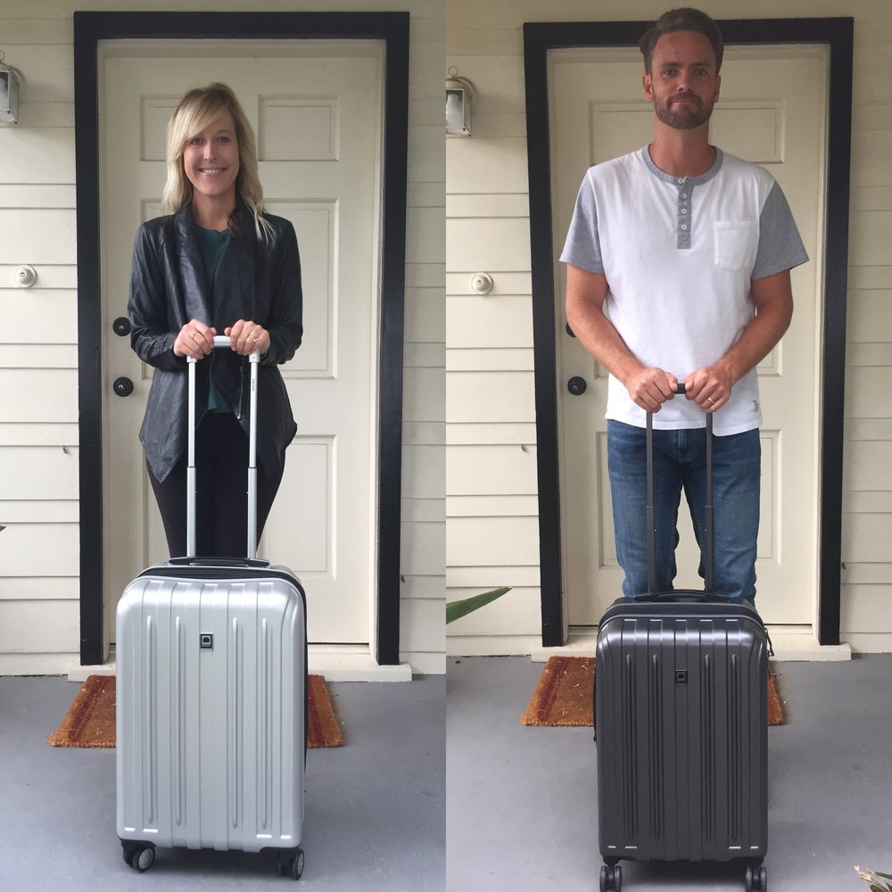 7c10dbade Delsey is a French luggage and travel accessory brand that has an  impressive assortment of colorful, stylish, and theft-proof luggage pieces.