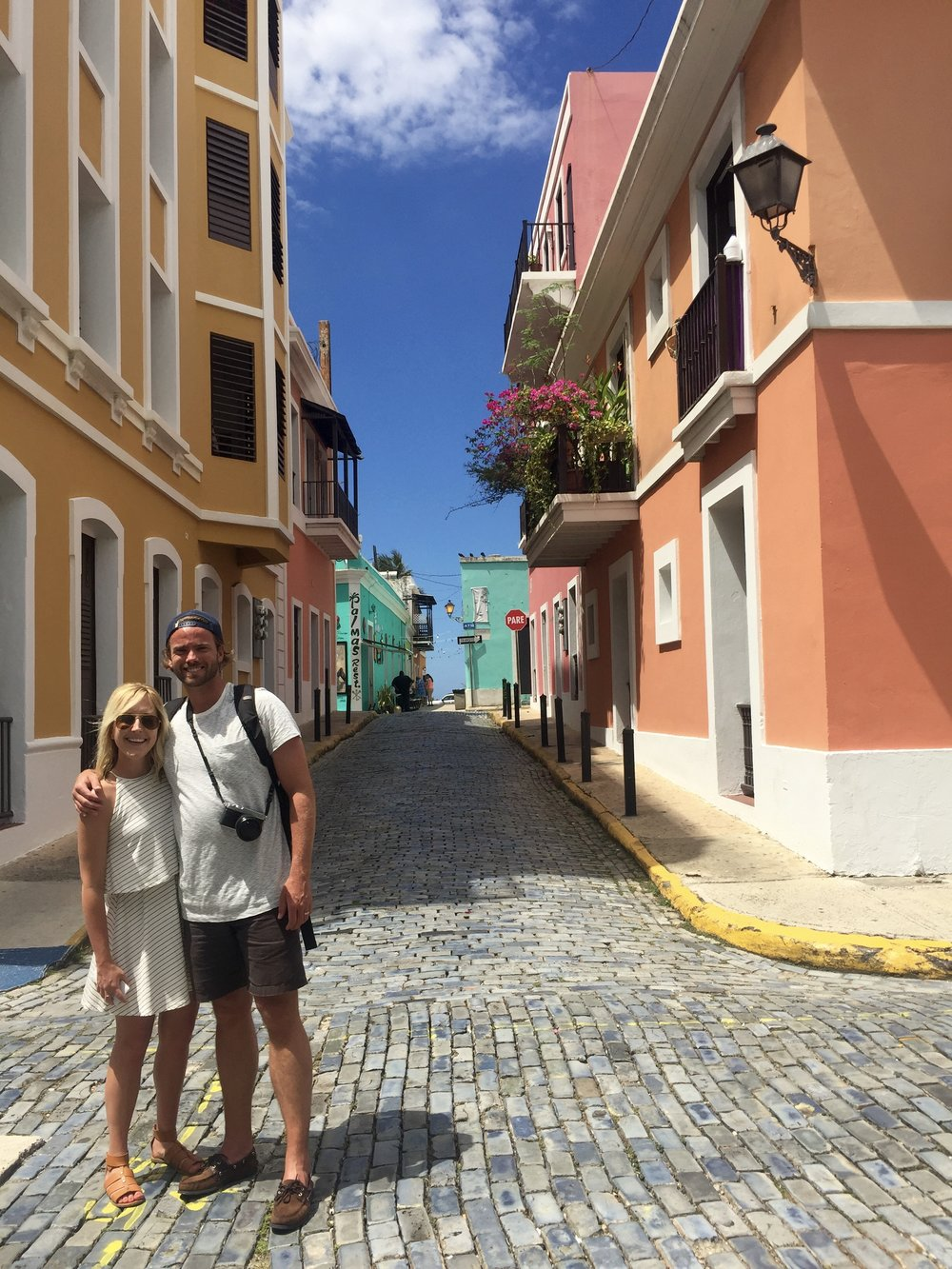 One of the most colorful places we've ever been... San Juan, Puerto Rico.