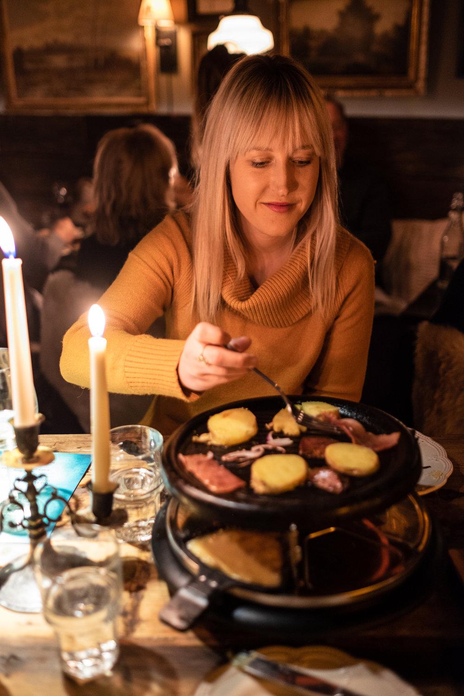 Romantic dinner at Le Creperie du Village