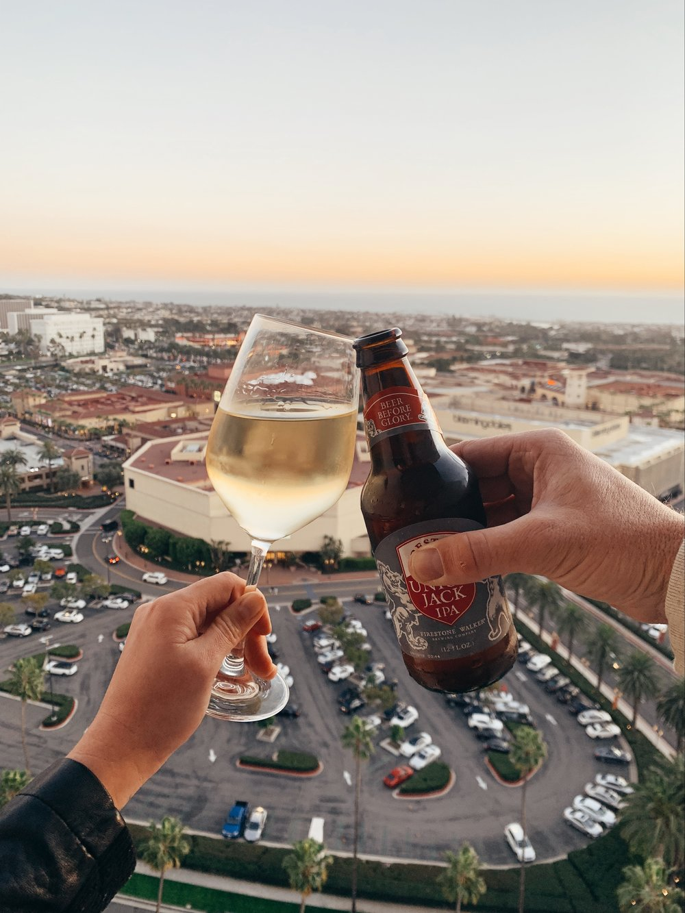 Cheers to sunsets from the Island Club Lounge!
