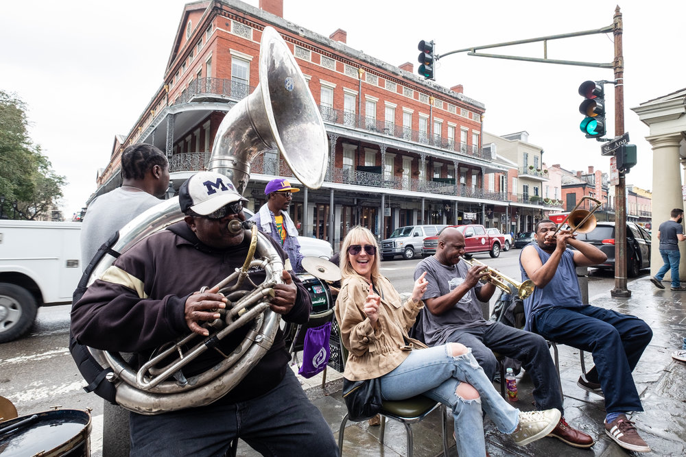 Jamming in Jackson Square