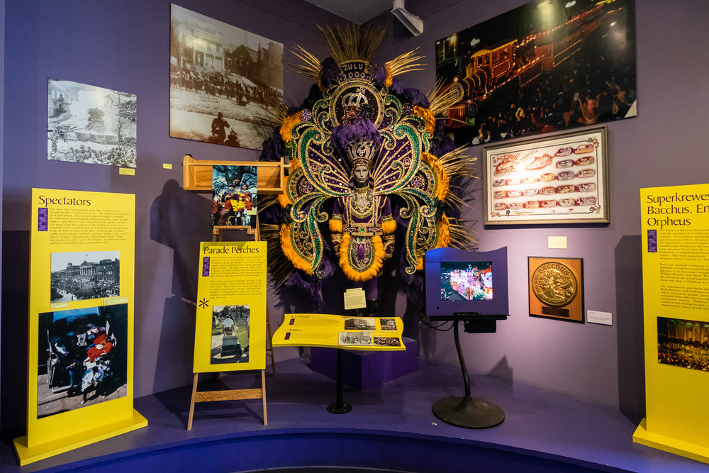 Mardi Gras Exhibit at Louisiana State Museum