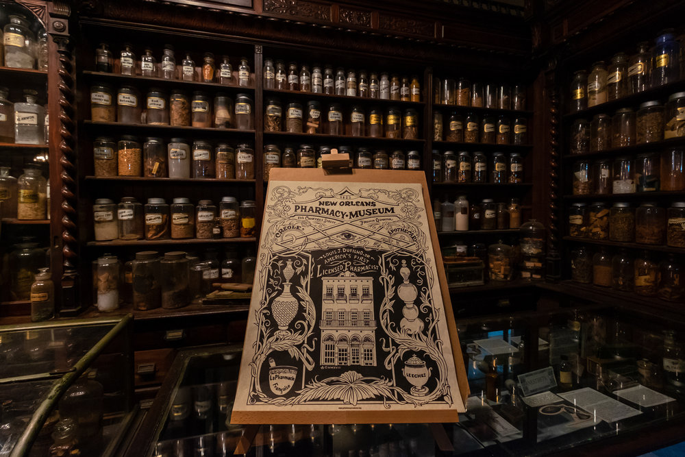 So much history at the Pharmacy Museum