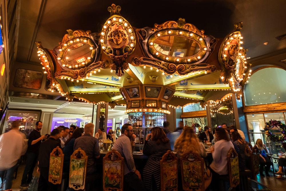 Revolving Carousel Bar at Hotel Monteleone