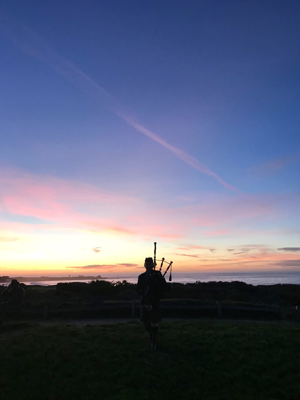 Epic sunsets and Scottish tunes at the Inn at Spanish Bay