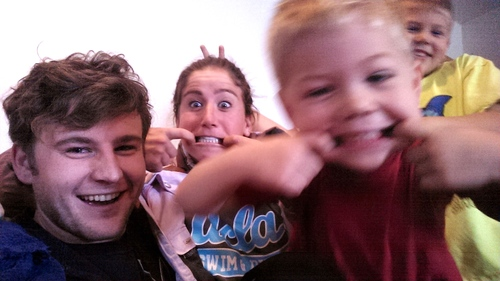 Nothing like little kids to cheer you up!