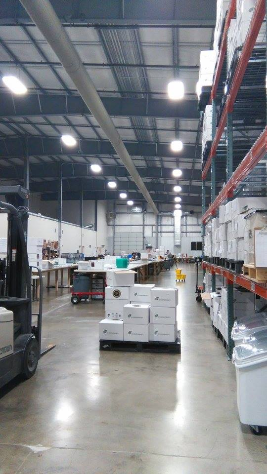 This is the packaging facility which houses the kitchen and the extraction room.