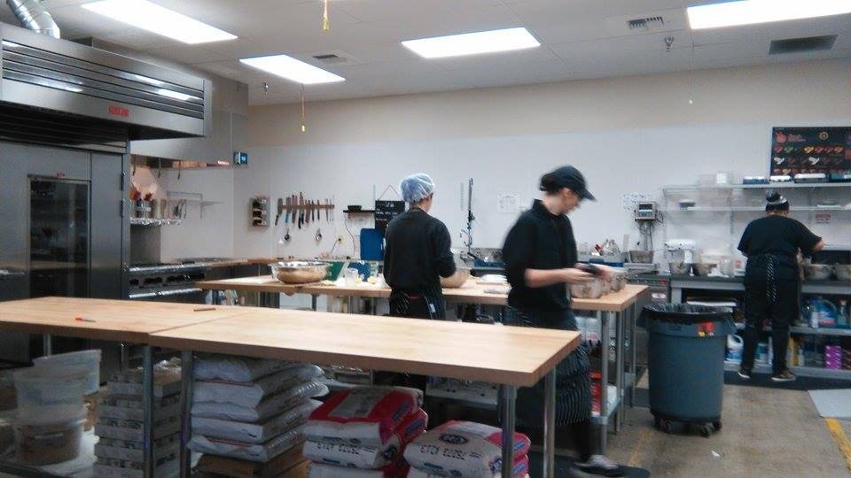 The kitchen that produces all the delicious cannabis infused treats