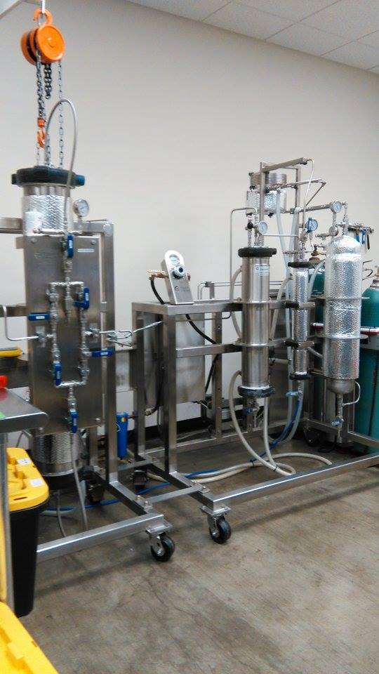 This is the BHO extraction machine