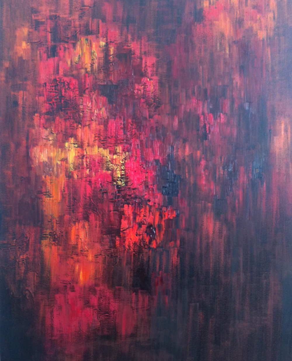 Oil on Canvas 24 x 36, 2012