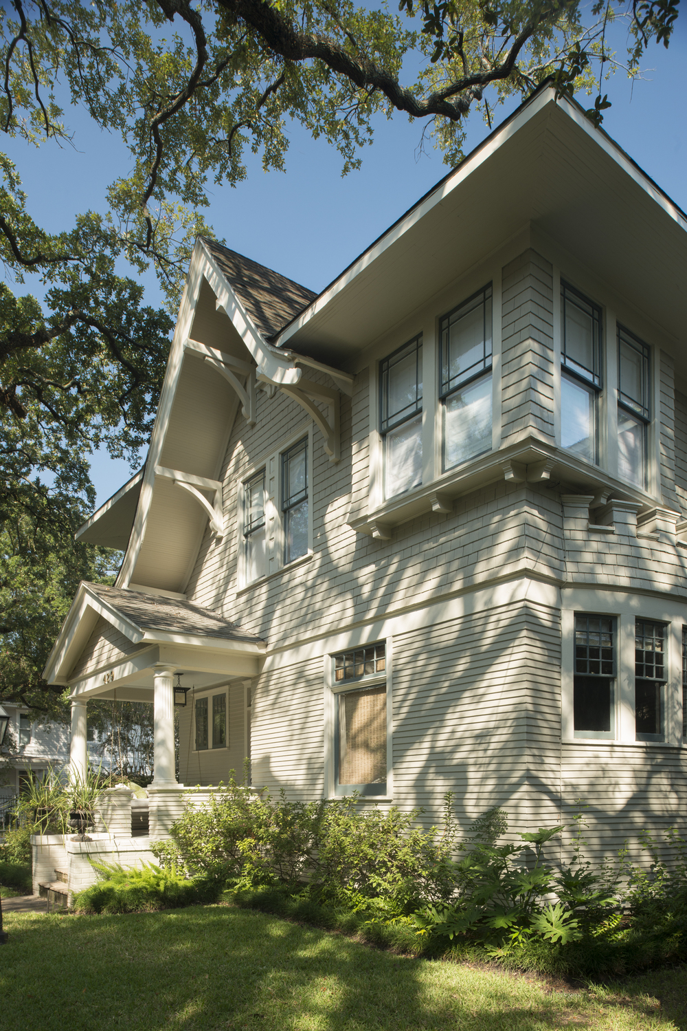 429 Bayland:  Original 1908 William Wilson two-story home carefully preserved and expanded.