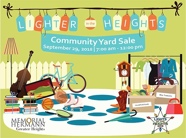 Lighter in the Heights — a community fundraiser for the 2018 Lights in the Heights celebration.