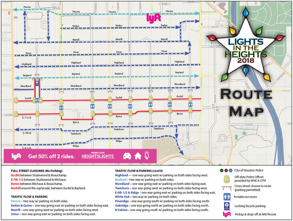 You can click on the map image above to download a PDF copy of the reference route map.