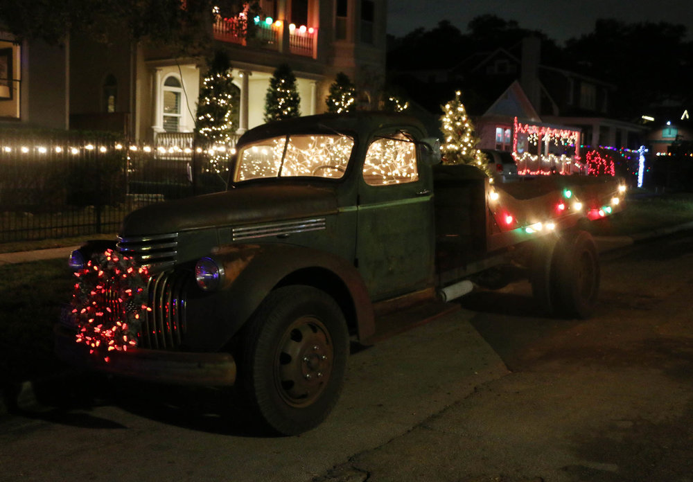 Best on 4 Wheels: Vintage truck on 1000 block of 7th