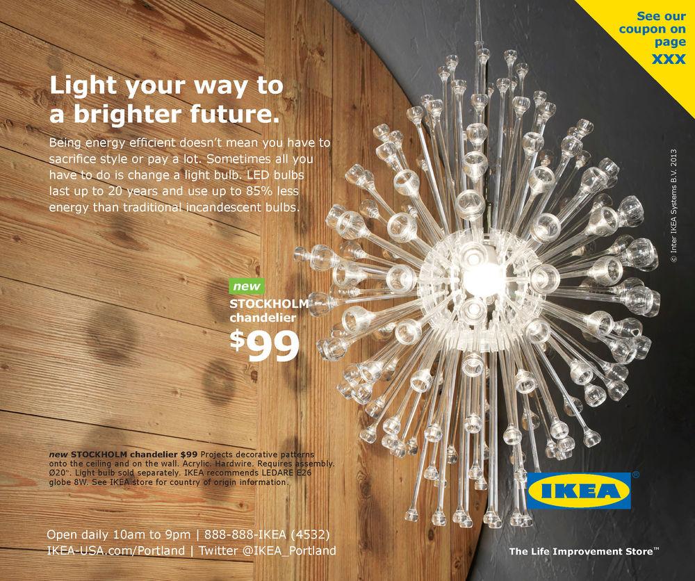 Ikea stockholm chandelier campernel designs ikea portland local media  gallery clyde bailey full page chinook book - Ikea Stockholm Chandelier Campernel Designs