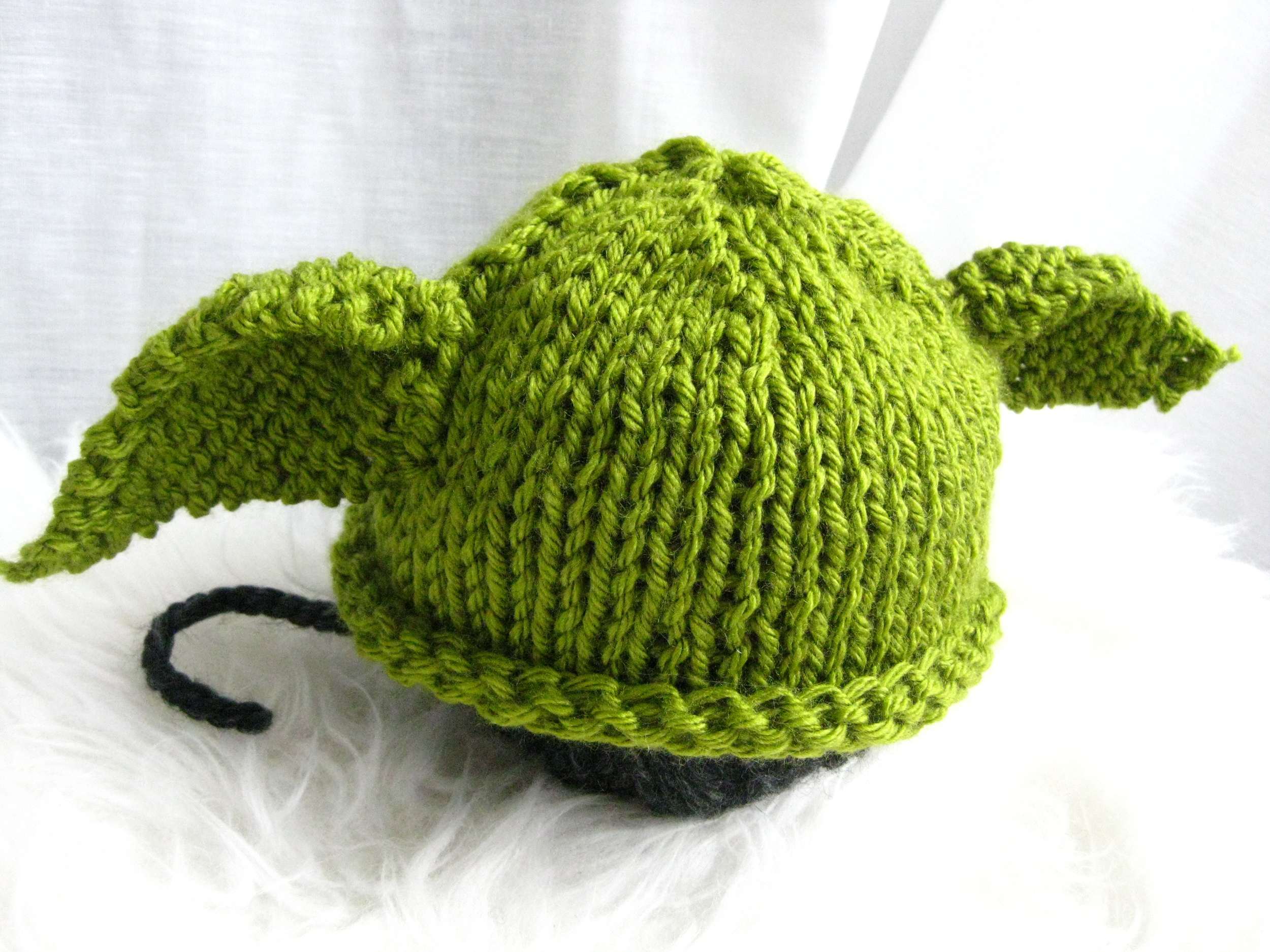 Baby Yoda Knit Hat With Free Pattern Shinah Chang