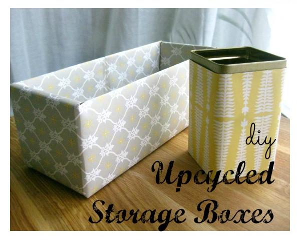 DIY Storage Boxes