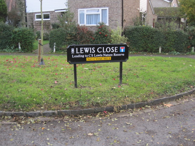 Lewis Close, home to The Kilns, C. S. Lewis's former home (1930-63)