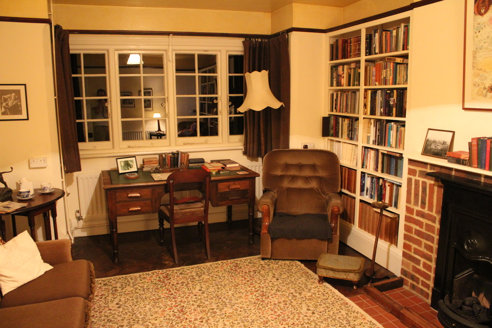 Front Room, The Kilns, former home of C. S. Lewis (1930-63)