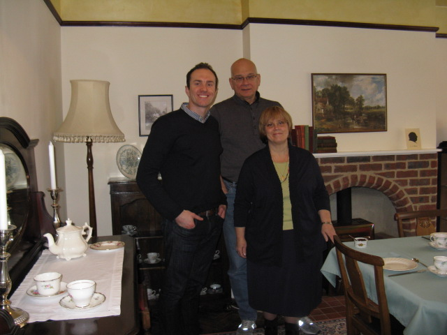 Ryan J Pemberton's tea and tour of the Kilns with Tim & Kathy Keller