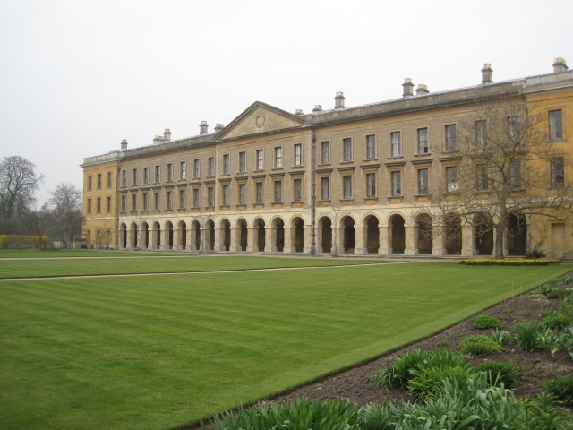 New Building, Magdalen College, Oxford, C. S. Lewis's former college