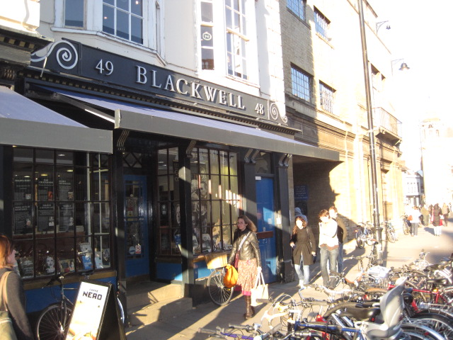 Blackwell's Bookstore, a must for book lovers, Oxford, England
