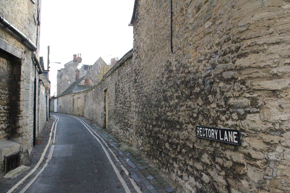 Rectory Lane, Woodstock, Oxfordshire, England