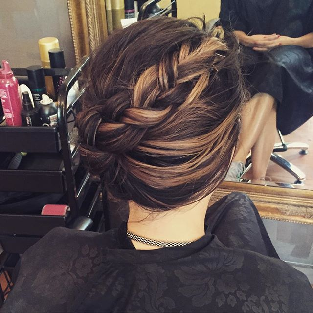 Braid #BellaHairstyling#hairup#melbourneracingcarnival#camberwell#hairstyle#hairdresser#highlights