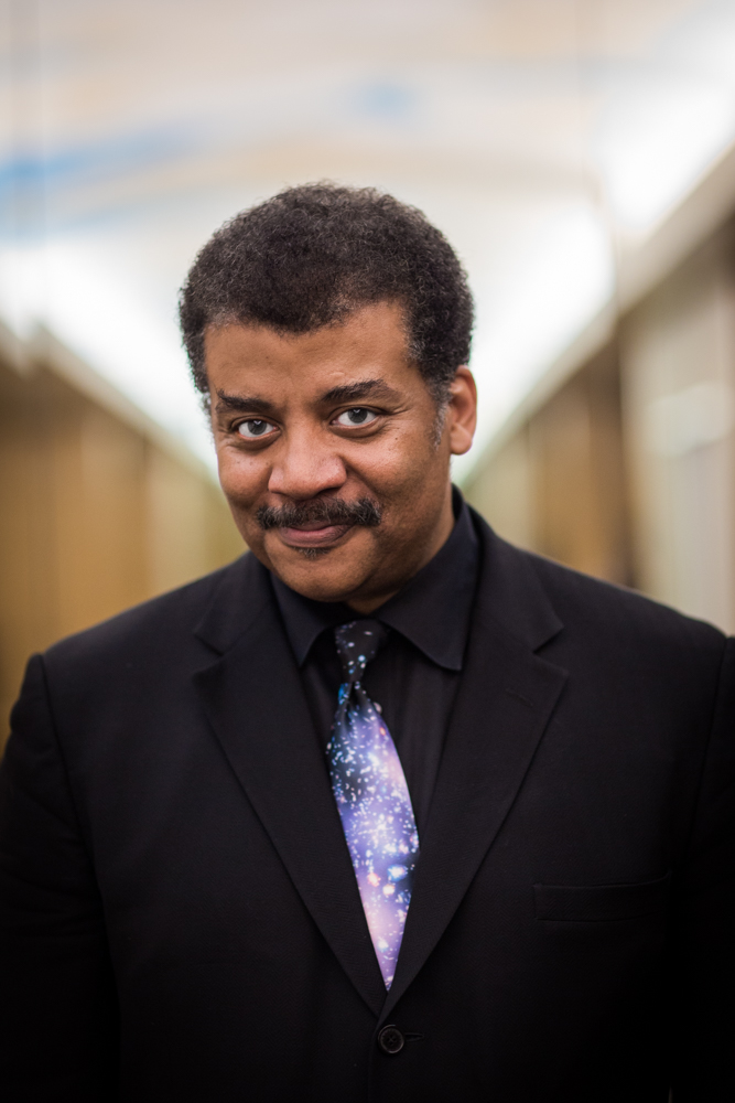 Neil deGrasse Tyson portrait