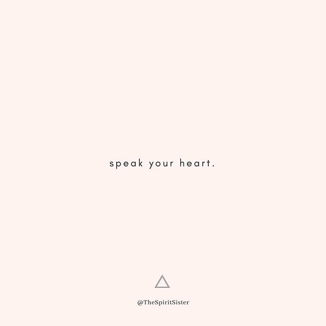 Express yourself. Don't walk around with the burden of unsaid things, unlived talents, and untold stories. ⠀⠀ Free yourself. Live out loud. → @cleowade, #HeartTalk ♥️ ⠀⠀ BAM! 💥 It's almost the long weekend (so close, I can feel it). Here's to speaking and living what lies in your heart. xoxo
