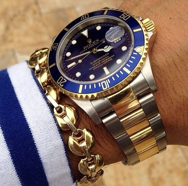 Rolex Submariner watch - a status symbol for many