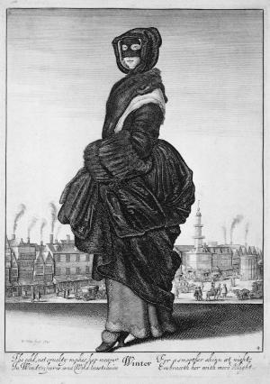 Winter by Wenceslaus Hollar (1643)