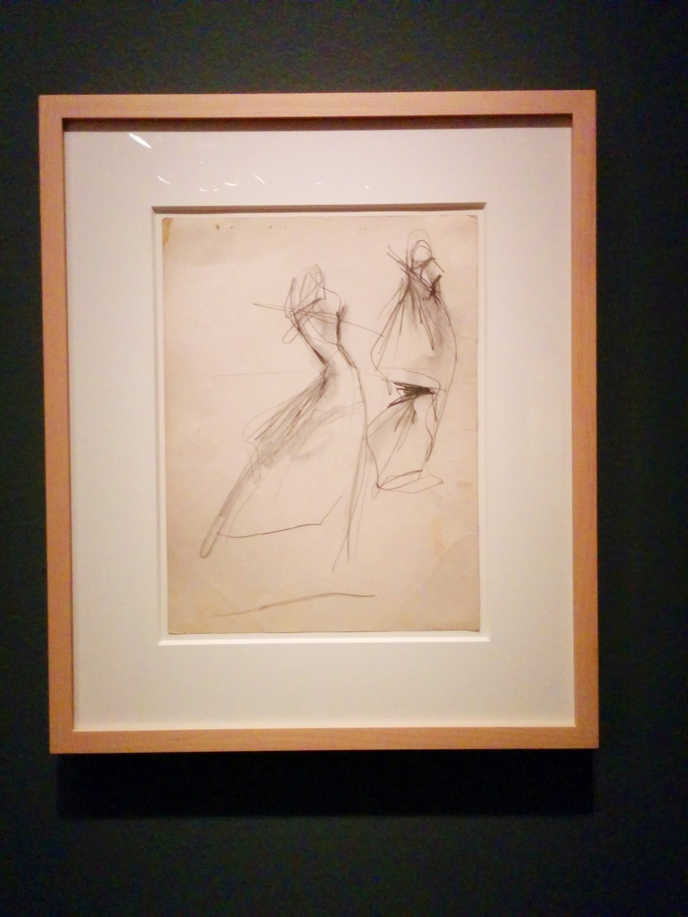 Original sketch by Charles James