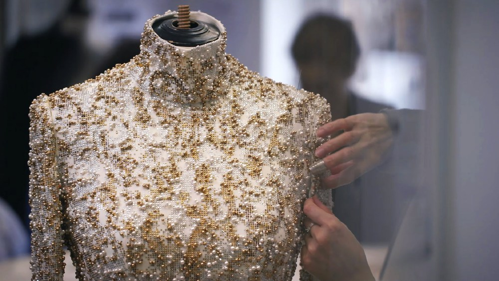 Making of Chanel couture piece