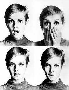 The iconic Twiggy