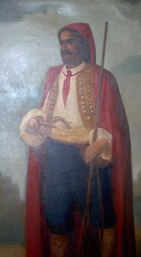 Croatian mercenary during the Thirty Years' War wearing a cravat