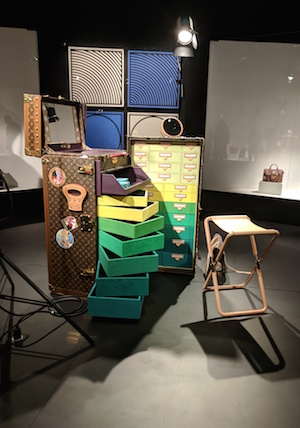 "Cindy Sherman's Louis Vuitton collaboration: ""Studio in a trunk"""