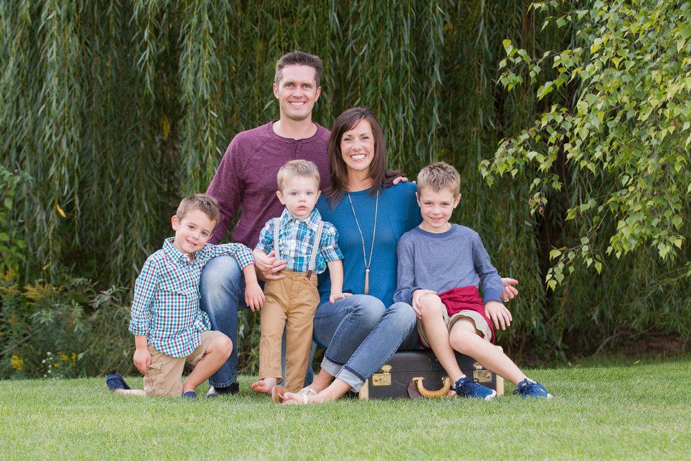 Hilary Handahl & Family