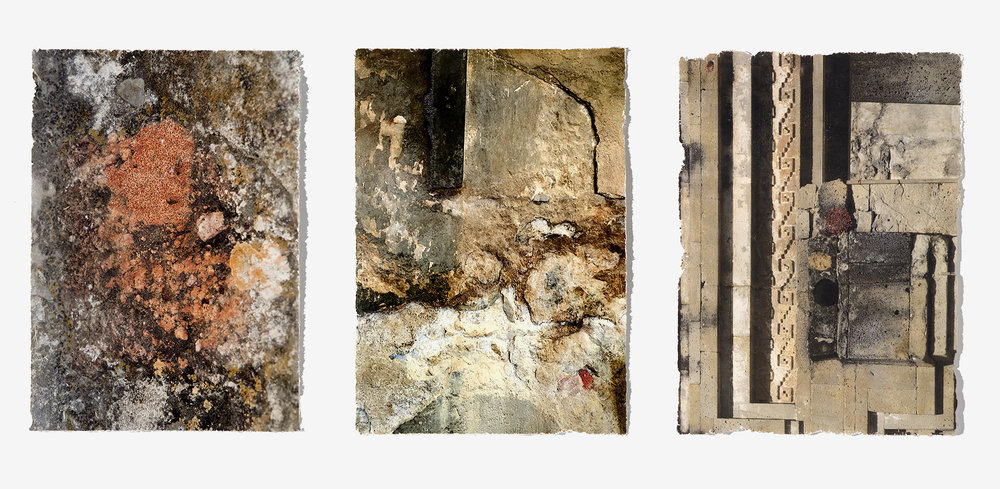 wall constructions - triptych, 2018