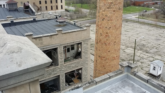 109 Glendale from roof over parking lot.jpg