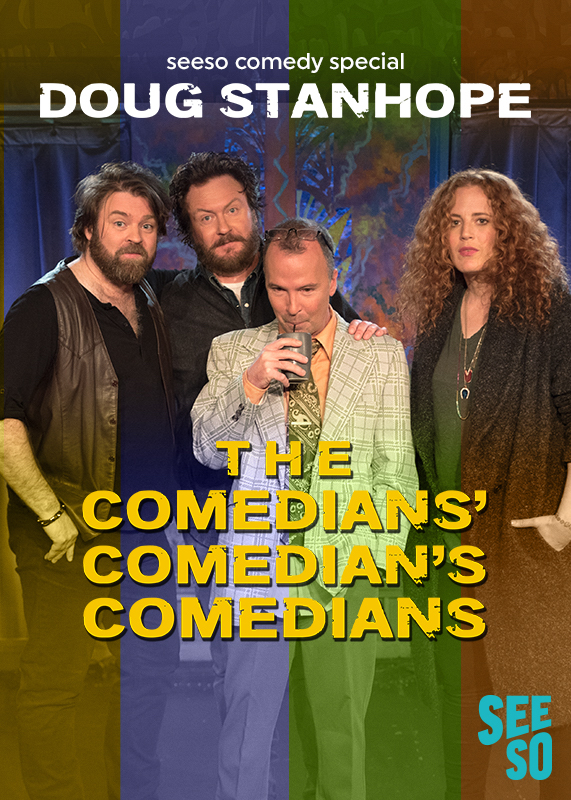 (L to R ) Glenn Wool, Brendon Walsh, Doug Stanhope & Morgan Murphy