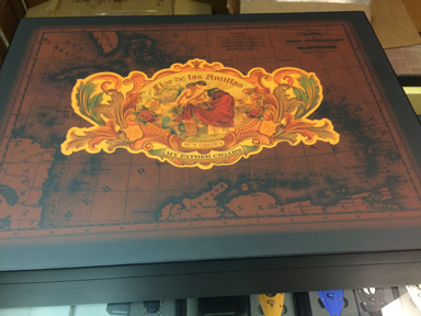 This Flor de las Antillas humidor is up for grabs in our June raffle..