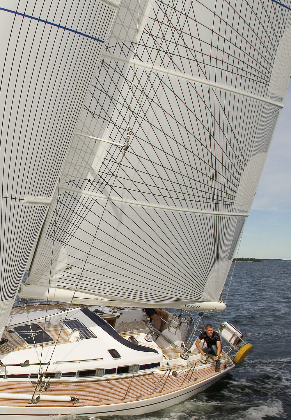 UK Sailmakers Full Batten Main Arcona 400