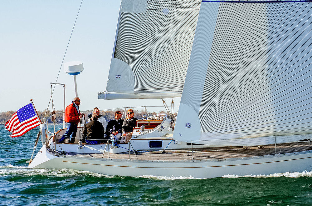 Larry Rouen liked his first set of Tape-Drive carbon Spectra performance cruising sails so much that after 11 years he order a second set.