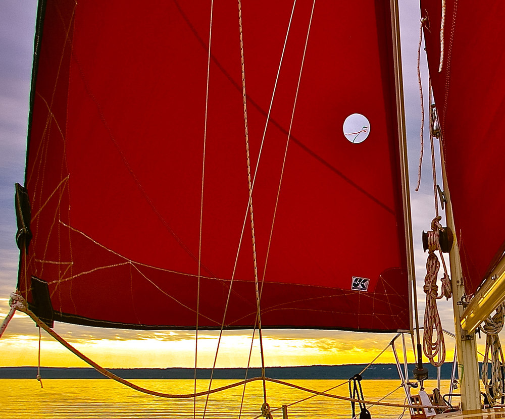 UK Sailmakers Superior SunSet Telltales Cruising Genoa
